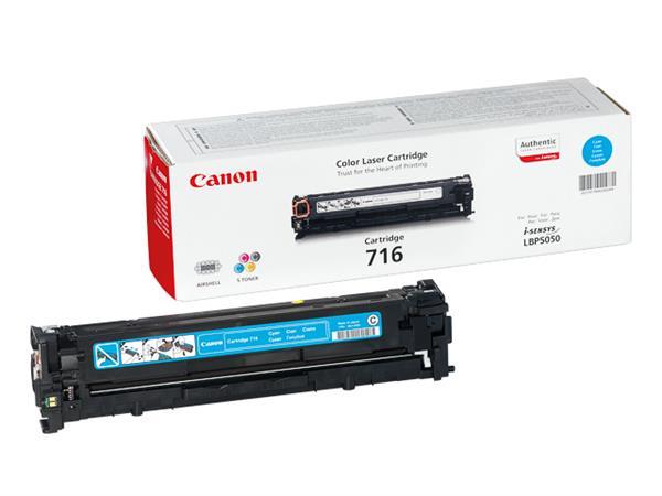 1979B002 CANON LBP5050 CARTRIDGE CYAN 716C 1500pag