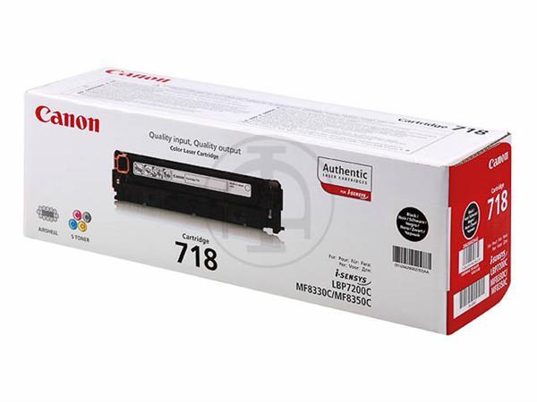 2662B002 CANON LBP7200 CARTRIDGE BLACK 718BK 3400p