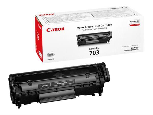 7616A005 CANON LBP2900 CARTRIDGE BLACK 703BK 2000p
