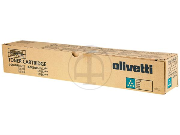 B1037 OLIVETTI DCOLOR MF222 TONER CYAN 25.000pages