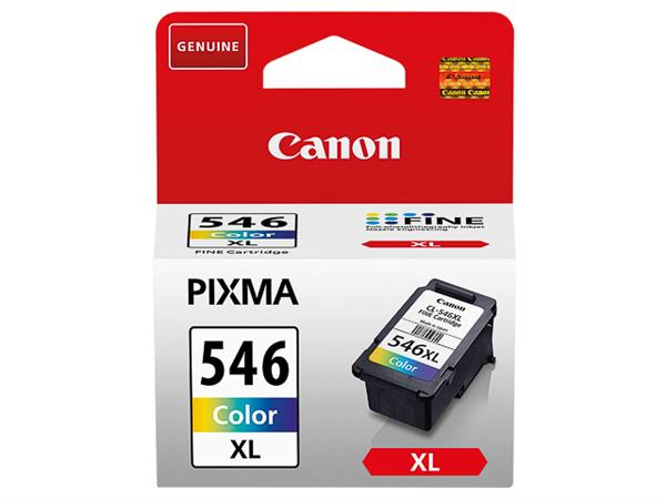 CL546XL CANON MG2450 INK COLOR HC 8288B001 No.546