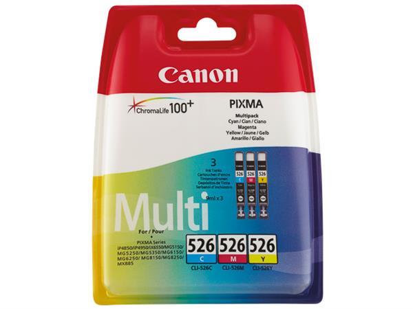 CLI526Z CANON IP4850 INK (3) CMY 4541B009 No.526 3