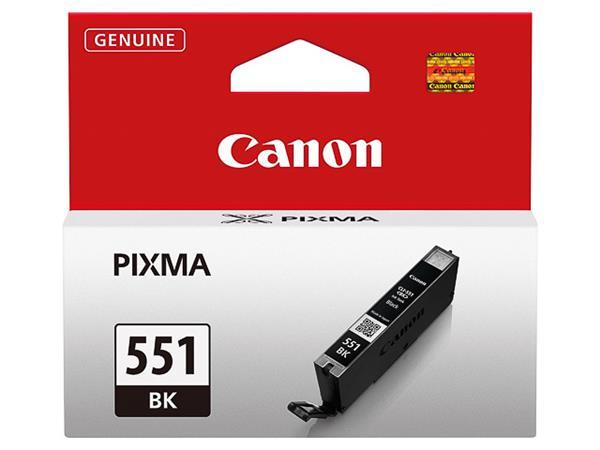 CLI551BK CANON IP7250 INK BLACK ST 6508B001 No.551