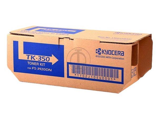 TK350 KYOCERA FS3920DN TONER BLACK 1T02LX0NLC 15.000pages + waste toner