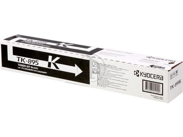 TK895K KYOCERA FSC8020MFP TONER BLACK 1T02K00NL0 1
