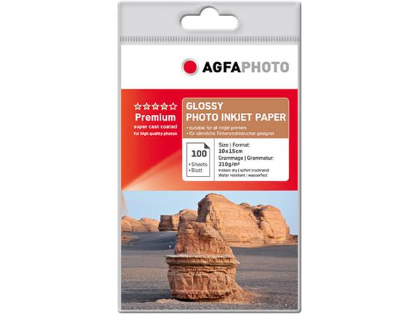 AP210100A6 AP PHOTO INKJET PAPER 100sheets 210gr s