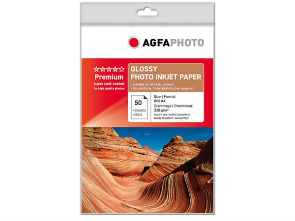 AP21050A4 AP PHOTO INKJET PAPER A4 50sheets 210gr