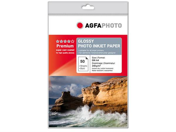 AP24050A4 AP PHOTO INKJET PAPER A4 240GR 50sheets