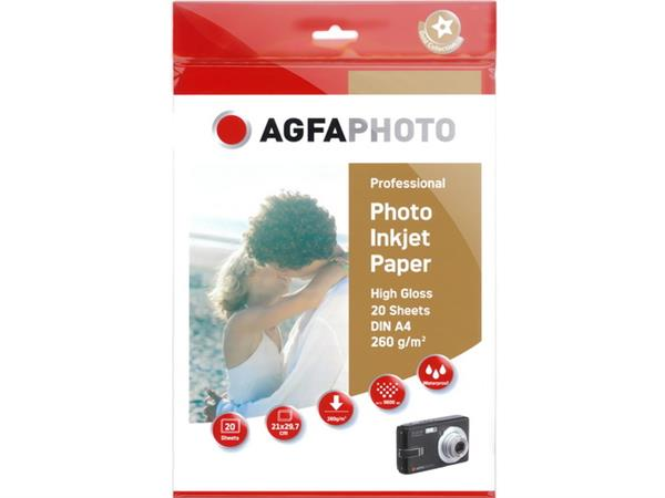 AP26020A4 AP PHOTO INKJET PAPER A4 260GR 20sheets