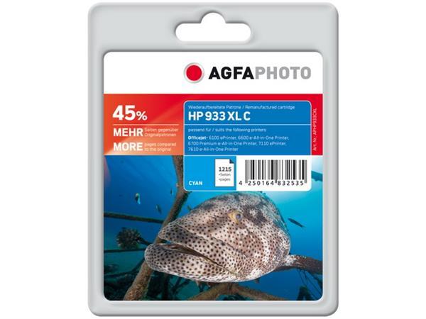 APHP933CXL AP HP. OJ6600 INK CYAN 1215pages