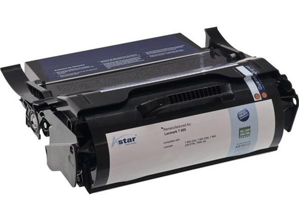 AS10652 ASTAR LEX. T650 CARTR BLK T650A11E 7000pages