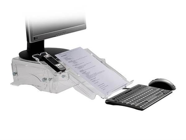 BNEQDM150 BAKKER MONITOR STAND Q-Desk Manager 150