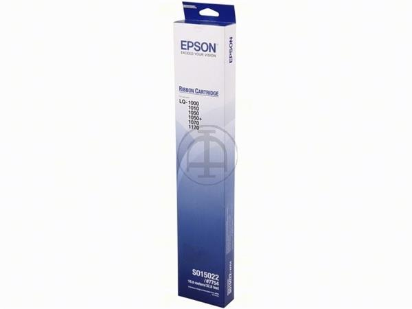 C13S015022 EPSON LQ1000 RIBBON NYLON BLK 2mil sign