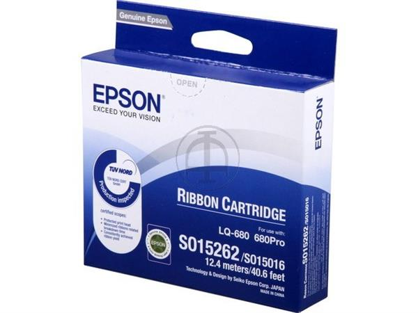 C13S015262 EPSON LQ2500 RIBBON NYLON BK 2mil signs