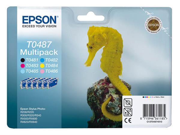 C13T04874010 EPSON ST PHR300 INK (6) 6x13ml cmyk/l