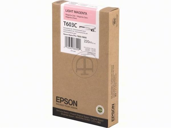 C13T603C00 EPSON ST PRO7800 INK LM HC 220ml light