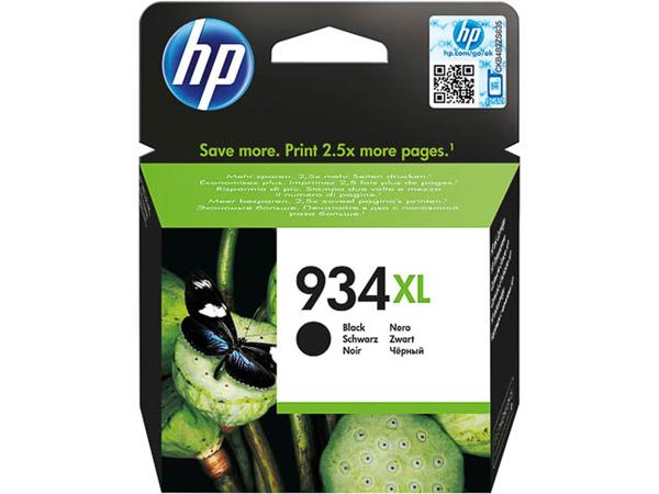 C2P23AE HP OJ PRO 6230 INK BLACK HC HP934XL 25.5ml