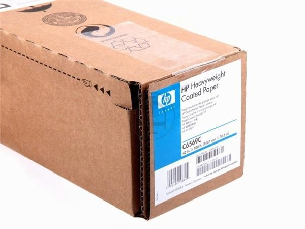C6569C HP COATED PAPER ROLL 42 1067mmx30.5m 130gr