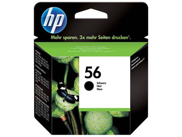 C6656AE HP DJ5550 INK BLACK HP56 19ml 520pages