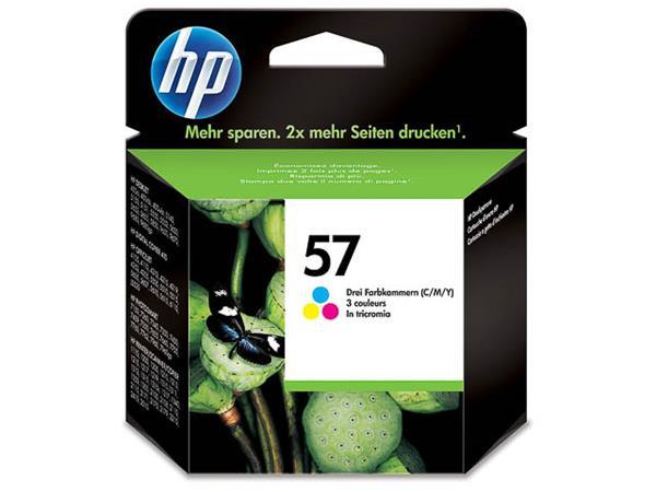 C6657AE HP DJ5550 PRINTHEAD COLOR HP57 17ml 500pag
