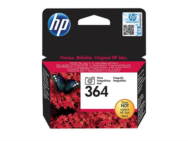 CB317EE HP PSCD5460 INK PHOTO BLACK HP364 3ml 130p