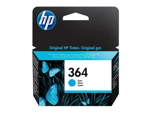 CB318EE HP PSCD5460 INK CYAN ST HP364 3ml 300pages