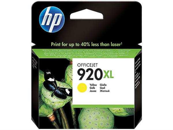 CD974AE HP OJ6500 INK YELLOW HC HP920XL 6ml 700pag