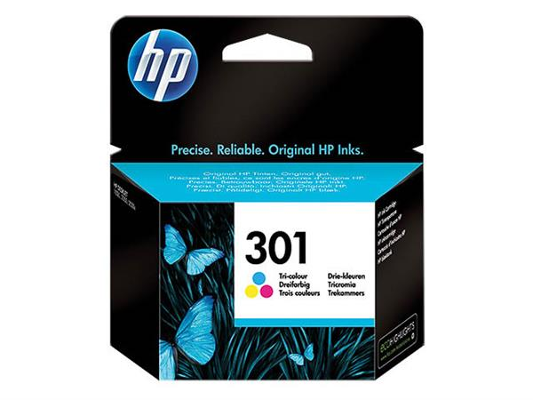 CH562EE HP DJ1050 INK COLOR ST HP301 3ml 165pages standard capacity