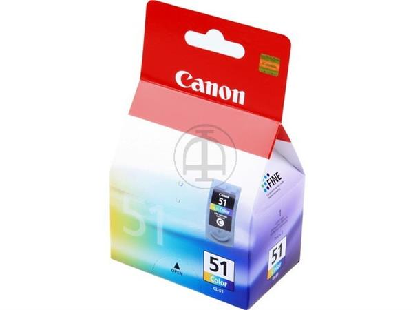 CL51 CANON MP450 INK COLOR HC 0618B001 No.51 21ml