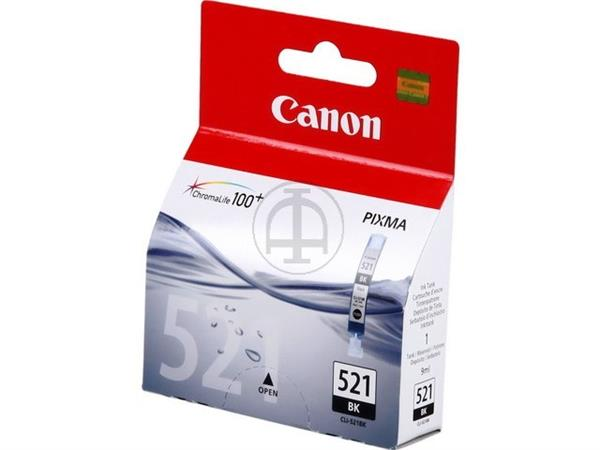 CLI521B CANON MP540 INK BLACK ST 2933B001 No.521 9