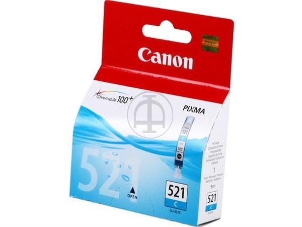 CLI521C CANON MP540 INK CYAN 2934B001 No.521 9ml 5