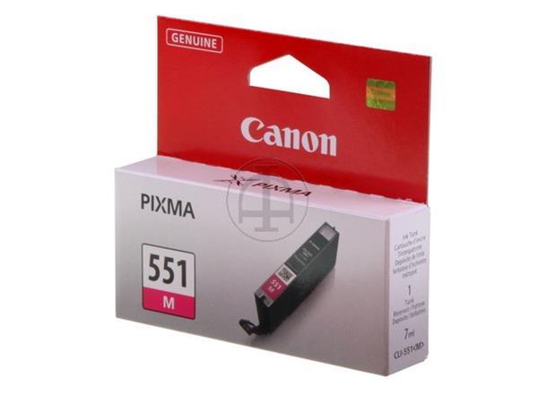 CLI551M CANON IP7250 INK MAGENTA ST 6510B001 No.55