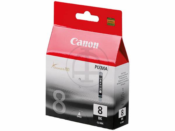 CLI8BK CANON MP800 INK BLACK 0620B001 No.8 13ml 40