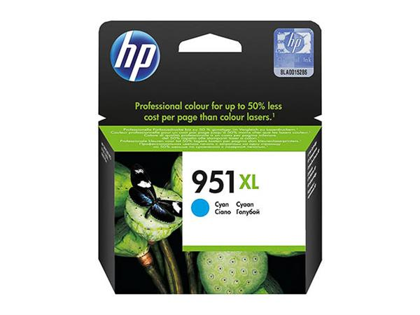 CN046AE HP OJ PRO8100 INK CYAN HC HP951XL 24ml 150