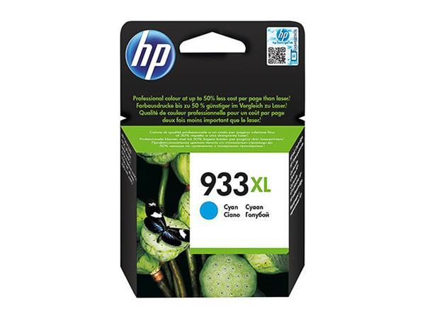 CN054AE#BGX HP OJ6600 INK CYAN HC HP933XL 825pages