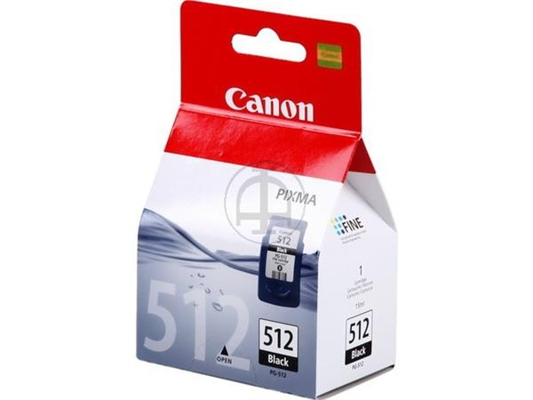 PG512 CANON MP240 INK BLACK HC 2969B001 No.512 15m