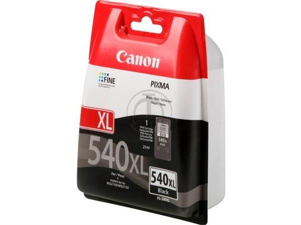 PG540XL CANON MG2150 INK BLACK HC 5222B005 No.540