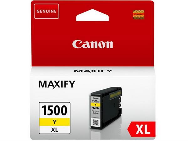 PGI1500XLY CANON MB2050 INK YELLOW HC 9195B001 12m