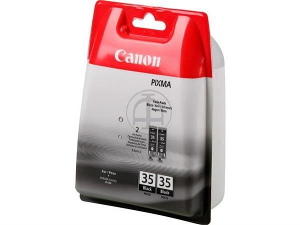 PGI35 CANON IP100 INK (2) BLACK 1509B012 No.35 2x1