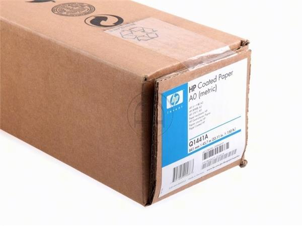 Q1441A HP COATED PAPER ROLL A0 841mmx45.7m 90gr