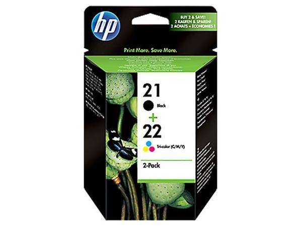 SD367AE HP PSC1410 INK (2) BLK+COL HP21 black + HP