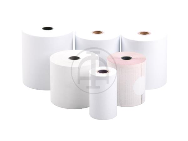 THERMAL ROLL 57x47x12mm WHITE BPA-FREE length appr