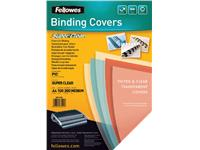 VOORBLAD FELLOWES A4 PVC 200MICRON TRANSPARANT