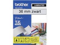 LABELTAPE BROTHER TZE-161 36MMX8M TR/ZWART