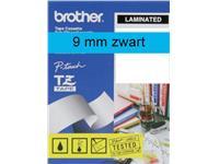 LABELTAPE BROTHER TZE-521 9MMX8M BLAUW/ZWART