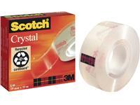 PLAKBAND 3M SCOTCH 600 19MMX33M CRYSTAL CLEAR