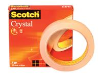 PLAKBAND 3M SCOTCH 600 19MMX66M CRYSTAL CLEAR