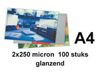 LAMINEERHOES GBC A4 2X250MICRON