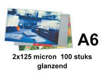 LAMINEERHOES GBC A6 2X125MICRON
