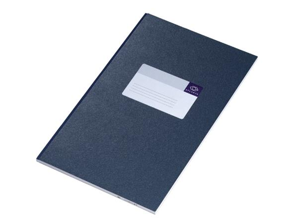 REGISTER BREEDFOLIO A1042-126 LIJN 48BLAD BLAUW